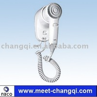 Hotel hair dryer 1100w,wall-mounted hotel hair dry