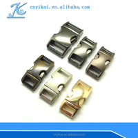 wholesale metal buckles for dog collars 3/4'' side release buckle