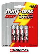 LR03 4B Alkaline Battery (AM4 SIZE AAA)