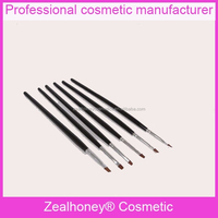 Goody hair brushes for nail painting nail art dotting tools and brushes black handle nail polish brush wide used in ameriacn