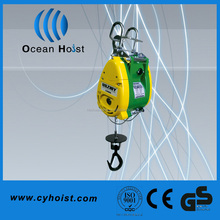 Light weight winch 12 volts with limit switch