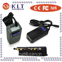 hot-sale Auto 40W blue universal netbook charger with LCD display