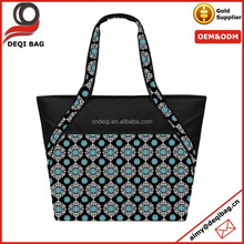 OEM production shopping tote bag polyester tote shopping bag