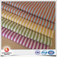 yarn deyd candy colour stripe dobby sateen fabric for women fashion clothing