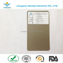champagne color finished state electrostatic Powder Coating Paint