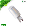 PC cover 2w g9 led corn bulb light with Ce rohs