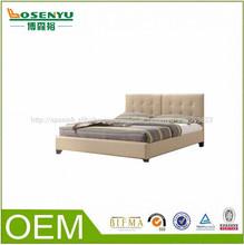 fabricante de muebles de madera india cama doble de diseño