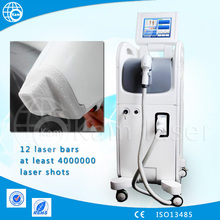 2015 new design laser diode strong power 3000w big spot size 12*20 mm acne scar removal/ diode laser double handpieces for salon