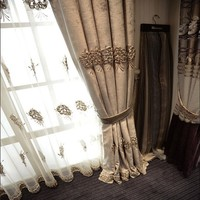 High Quality 100 Polyester Alibaba Wholesale Fabric Chenille Curtain