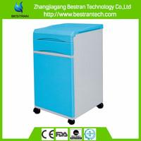 BT-AL005 ABS bedside cabinet plastic bedside cabinet used hospital bedside tables