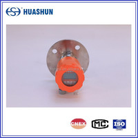 high-reliability and compact control radar level meter for dangerous,toxic or corrosive liquid and solid storage tank