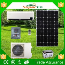 garden line solar product, 12000btu cooling and heating solar air conditioning