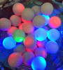 Good quality promotional Glowing flashing LED golf ball