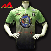 Custom Fishing Tournament Shirt Sublimated Fishing Wear