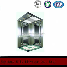 Low noise cheap lift with ISO 9001for passenger