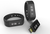 Bulk sale message check fitness band smart bracelet wristband, touch health step counter