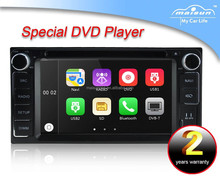 6.2 inch digital touch screen Toyota universal car DVD with bluetooth/Radio/USB/SD