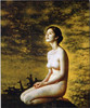 Hot Custom Made china naked girls Women oil painting art Nude Sexy Girls Photos Oil Painting Home Decor Canvas Paintings