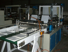 High Speed four lines cold cutting bag making machine