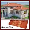 Metal Construction Material Cheap Asphalt Shingles / Kerala Stone Coated Metal Roof Tile