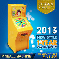 Casino kids coin operated roulette game machine