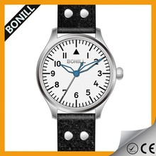 Military Style Brown Leather Men OEM Watches