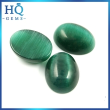 cat's eye beads lab created cats eye gemstone green cat eye lights