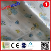 High quality Hot sale printed muslin swaddle blanket factory