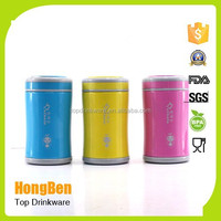 BPA free double wall food grade vacuum flask keeps drinks hot and cold for 24 hour