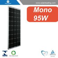 Best price 95w monocrystalline solar module connect to delta inverter for high power solar system