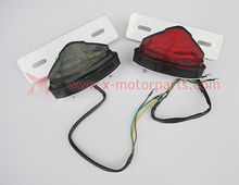 LED Tail/Turn/Brake/Plate Light with plate for ATV ,Quad ,Dirt Bike monkey bike,racing bike and motorcycle
