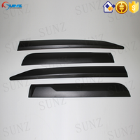 Exterior Accessories Injection Black Body Trim For Toyota Fortuner 2015 SUV Best Selling 2015 SUV Toyota Fortuner Accessories