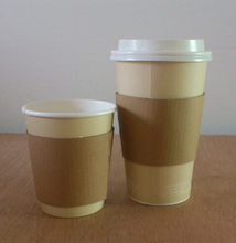 Hot selling Personalize Paper Cup Sleeves/Cup Carrier/Cup Holder