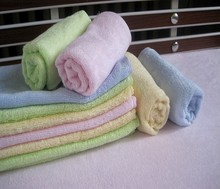 Factory price bamboo fabric hand towel