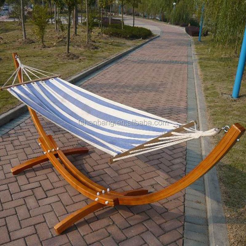 Outdoor Garden Patio Swing Furniture Free Standing Wood
