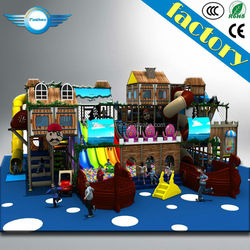 Pirate Ship Naughty Castle/indoor playground/indoor naughty castle electric equipment