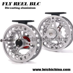 Stock Available High Quality Chinese Fly fishing BLC anodized aluminium flyfishing reel
