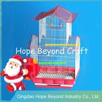 Small metal cage for parrot parrot breeding bird cage