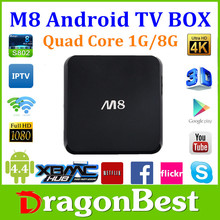 m8 android tv box amlogic s802 xbmc set top box android dvb