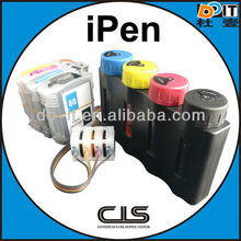 ipen for hp940 ciss with 2012 auto reset chip unique patent design with damper which make ink not backflow