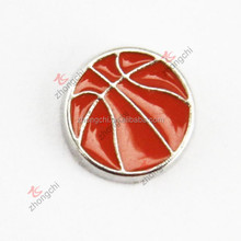 Top sale china supplier basketball floating charms for glass locket