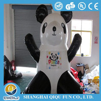 2015 giant lovely inflatable panda for outdoor &indoor advertising