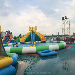 High Quality PVC swimming pool/ giant inflatable playgrounds for kids or adults giant inflatable playgrounds