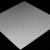 Top Sale Acoustic Perforated Grate Aluminum Ceiling Tile 600*600