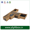 Wholesale promotional brown kraft paper box gift box packaging box
