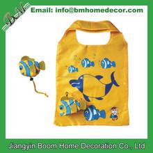 Tropic Fish Shape Shopping Bag / Fish Folding Bag / Fish Shaped Foldable Bag