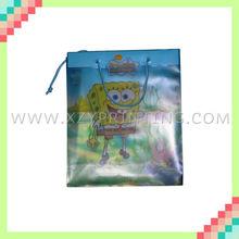 Cute printable foldable shopping PVC bag packing