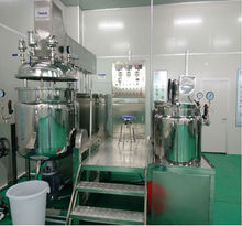 250L tilting chemical vacuum mixer