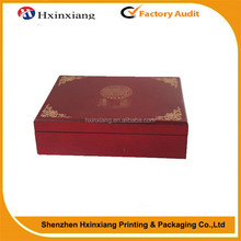 2015 high quality wholesale oem custom luxury wooden gift box