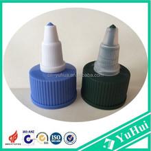 PP plastic bottle Twist top caps for electric hair lotions,eye drops,28mm nozzle twist plastic bottle cap